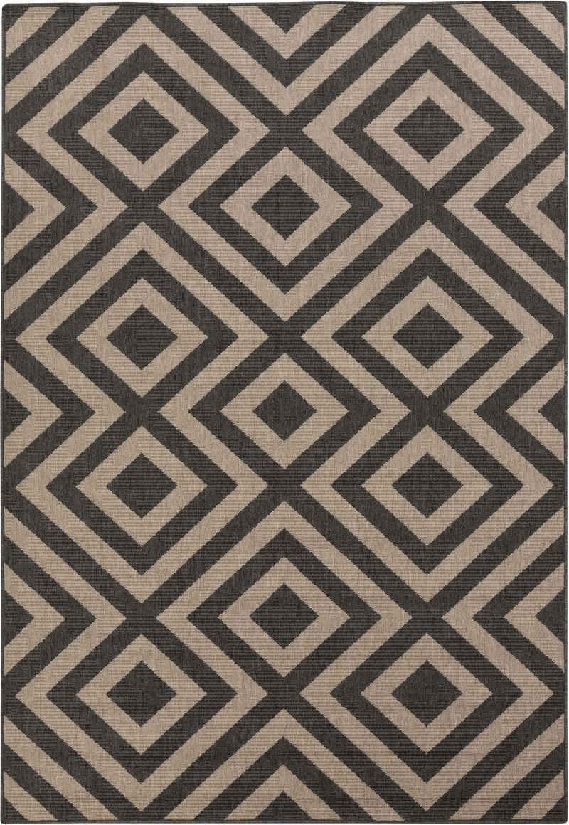 "Surya Alfresco ALF-9641 Dark Forest Dark Forest 2' 3"" 4' 6"" Area Rug"