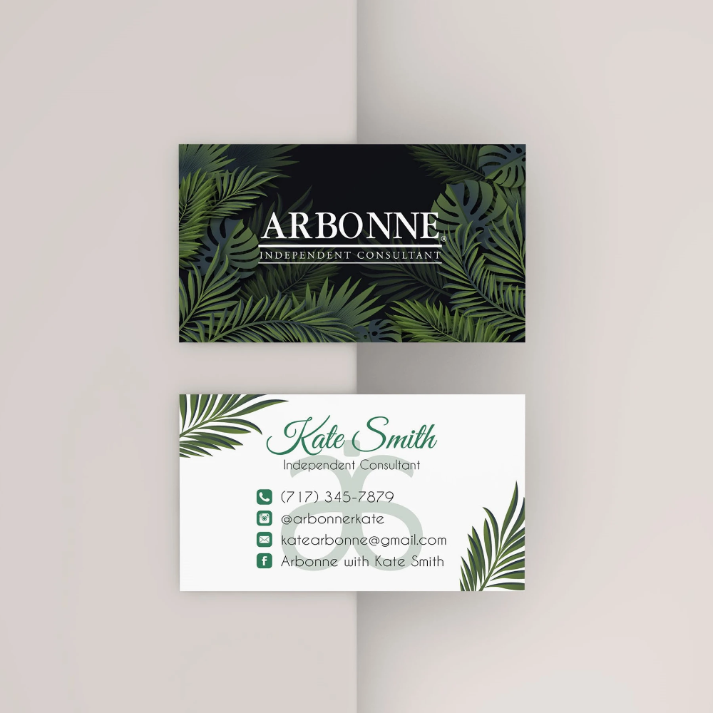 Printable Arbonne Business Cards Personalized Arbonne Cards Ab39 Toboart Arbonne Business Cards Arbonne Business Arbonne Consultant Business