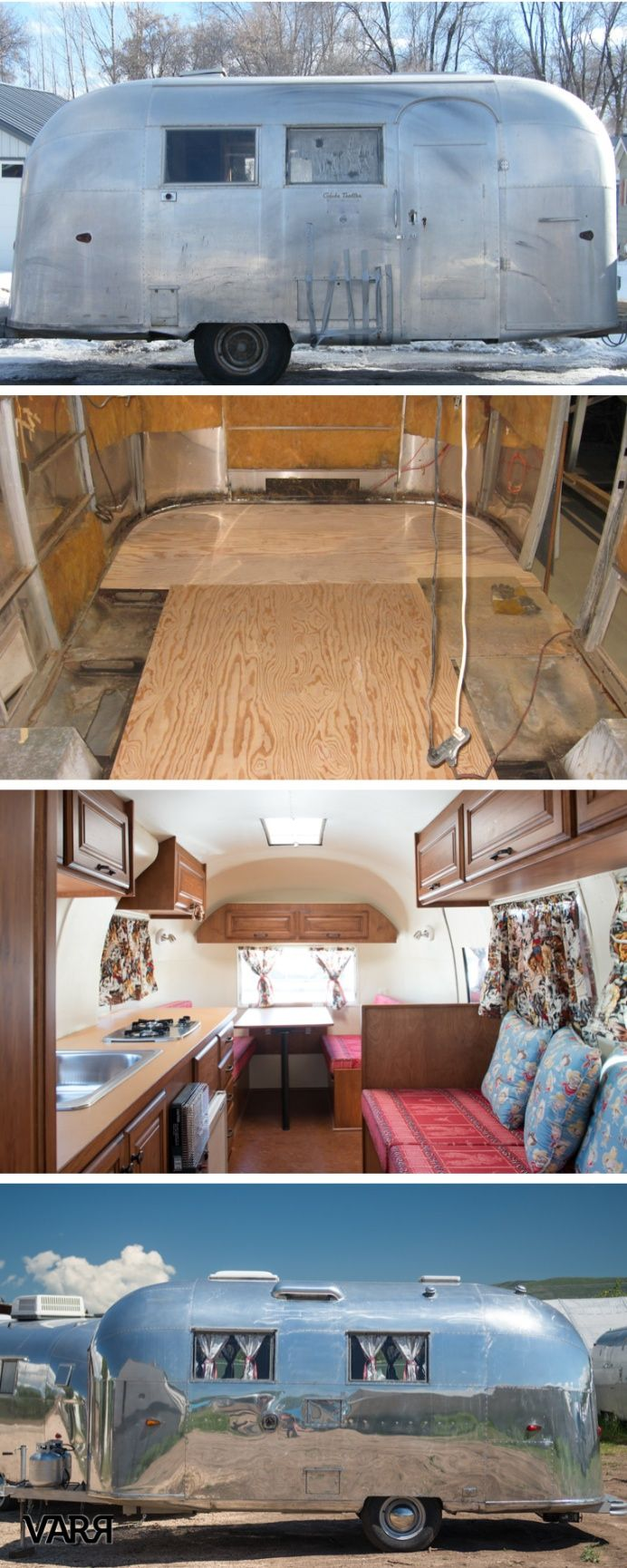 Before After 1963 Bi Level Remodeling In Boulder: Before & After : A Vintage Airstream Restoration The