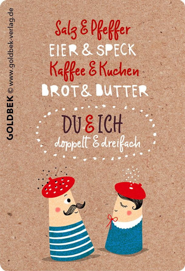 Photo of Postkarten – Liebe. Handgezeichnete Illustration mit witzigem Text – Liebe geht …