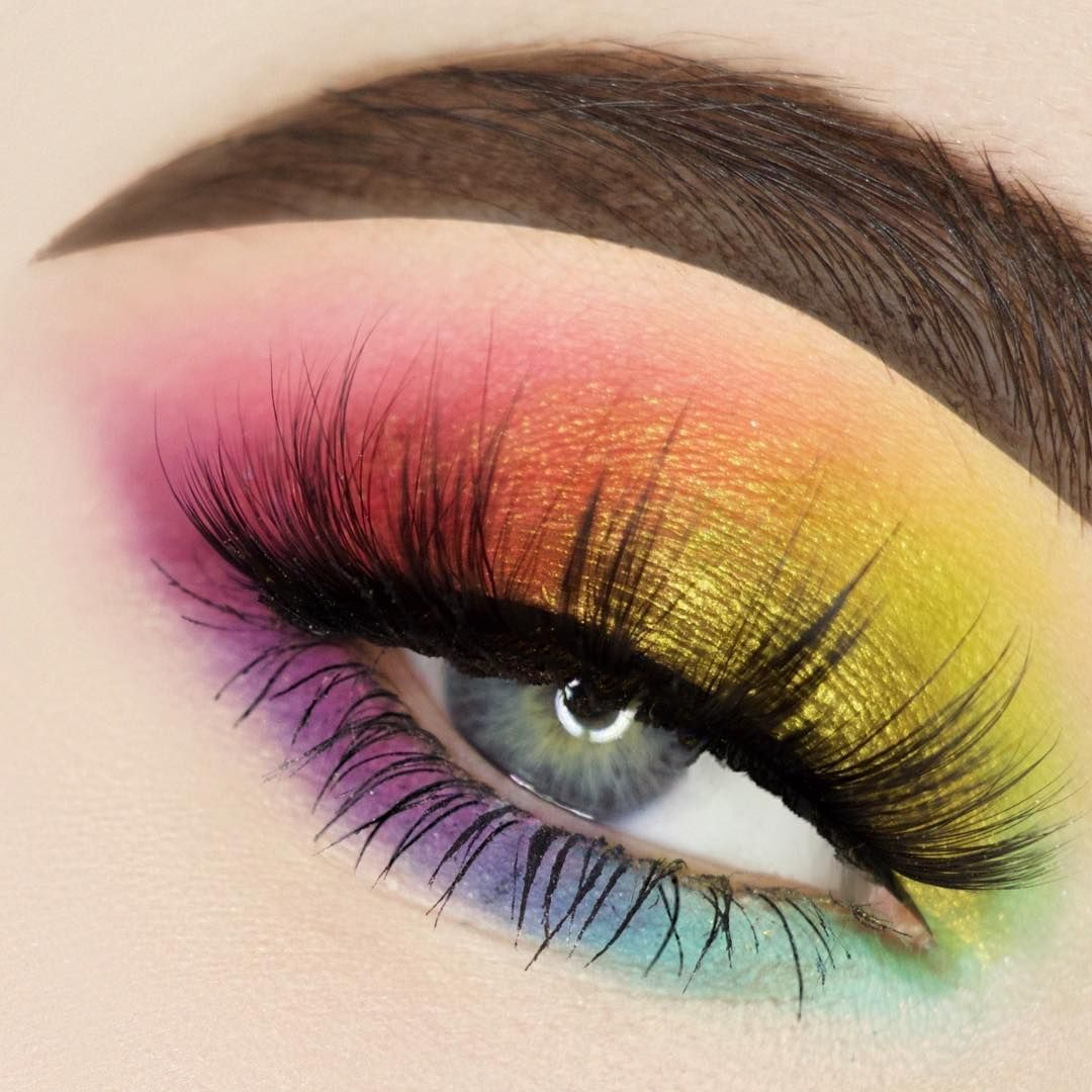 bhcosmetics take me to Brazil palette. • lashes are by