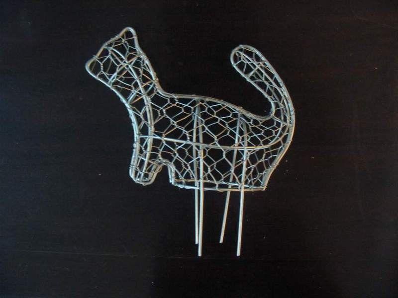 Metal Ardilla Alambre Topiary Marco - Buy Product on Alibaba.com ...