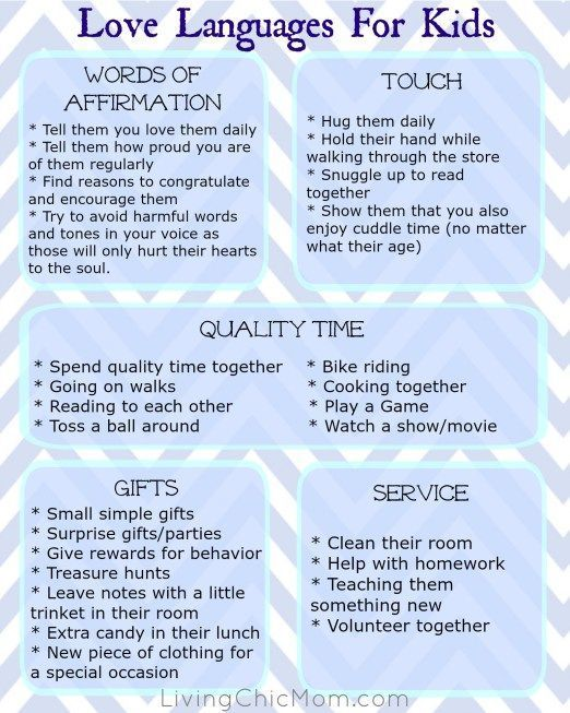 Photo of How to REALLY show your kids that you love them – 5 love languages - Living Chic M …