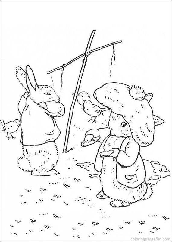 Peter Rabbit Coloring Pages | Peter Rabbit Coloring Pages 29 ...