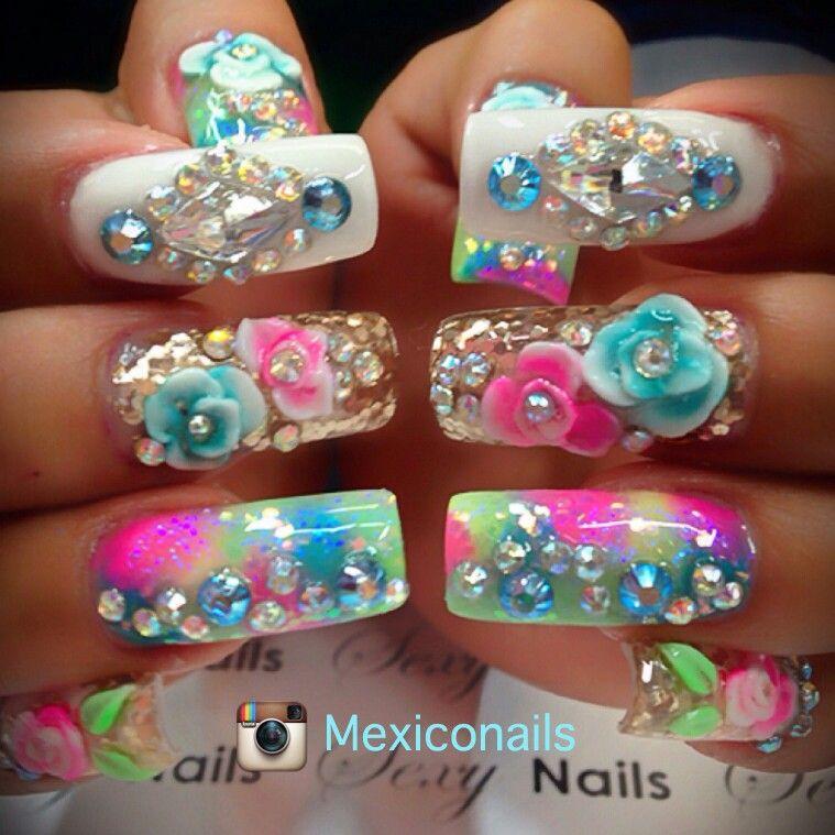 Beautiful Junk Nails Nail Pinte