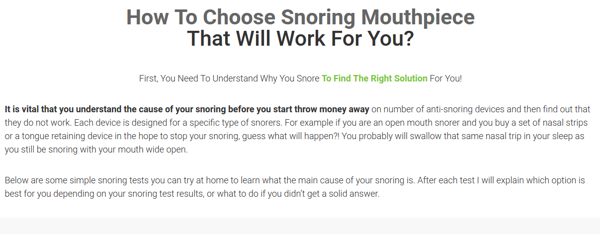 How To Pick The Perfect Snoring Mouthpiece Snorenation Snoring Mouth Guard Anti