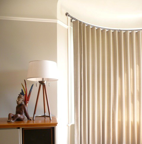 Have A Curved Window We Have The Curved Drapery Rods To Traverse