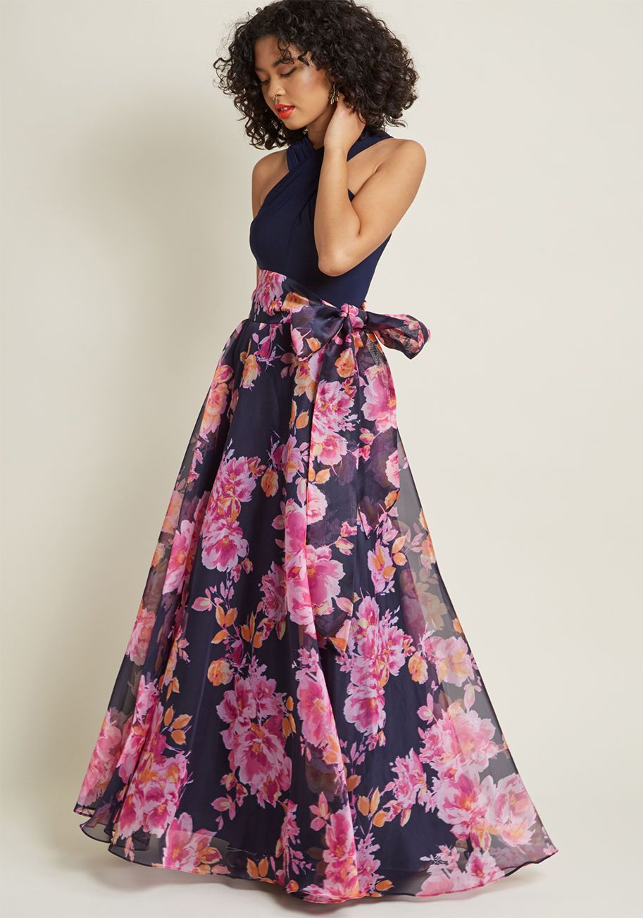345952b03a6 Eliza J Influential Elegance Floral Maxi Dress - You re well known for your  giving heart
