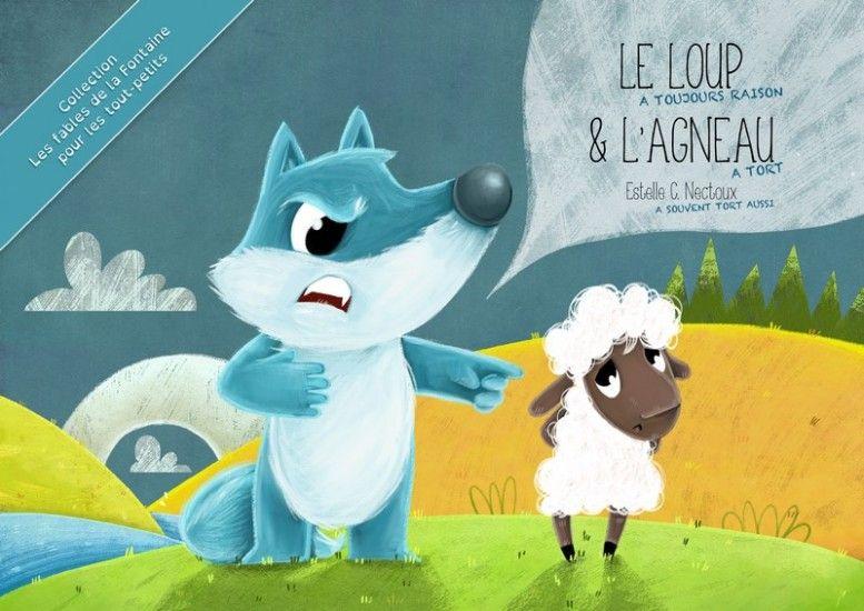 Le loup et l'agneau (pour les tout-petits)