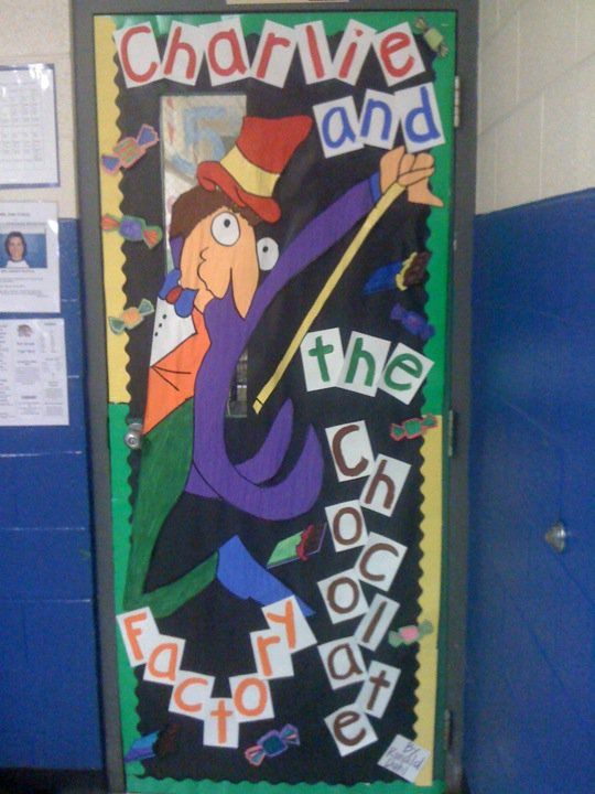 Door Decorating Contest | Great Books for 4th Graders ...