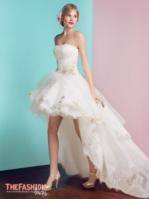Certainly not for the average bride, the high-low wedding dress ...