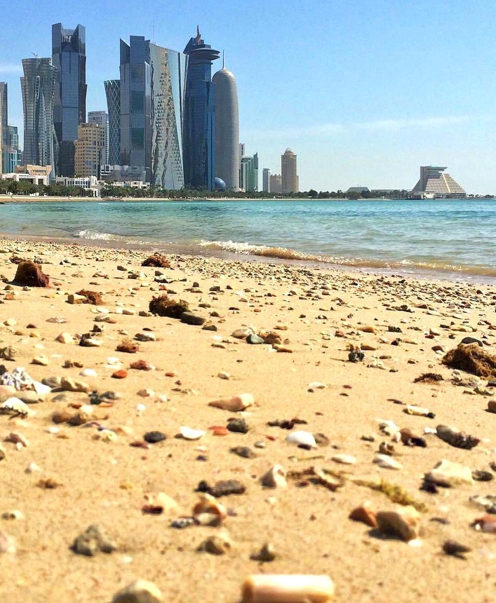 Corniche Doha Qatar Mirnamahyudin In 2020 Doha Beautiful Places Instagram