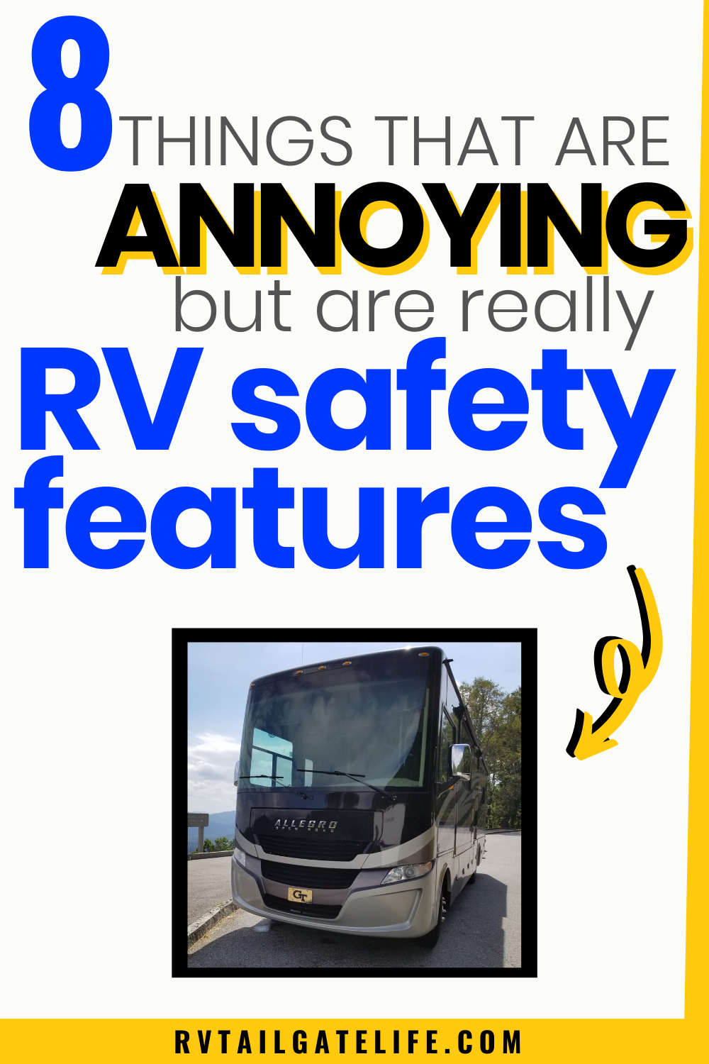 8 Annoying Things That Are Actually RV Safety Features in