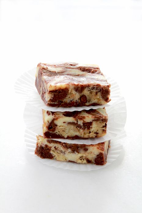 Cookie Dough Cheesecake Brownie Bars