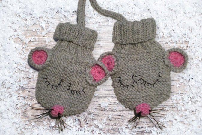 Photo of Strickmuster Handschuhe für Babys–Tiermotive