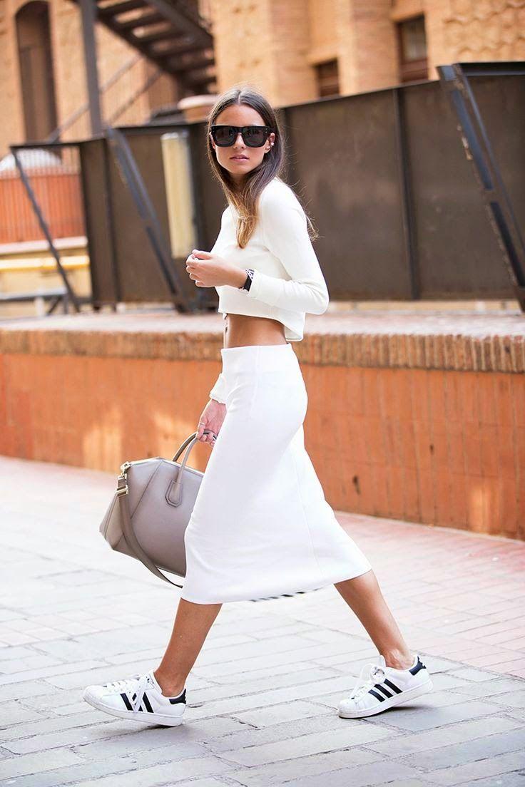 adidas superstars with dress Google Search | Fashion