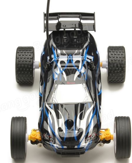 High Speed Remote Control RC Black wall Climbing Car (With