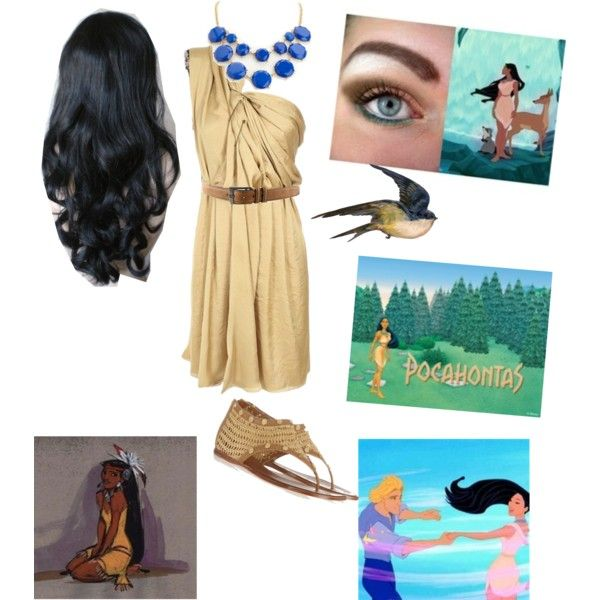"""""""Pocahontas ~casual look"""" by angelrocky on Polyvore"""