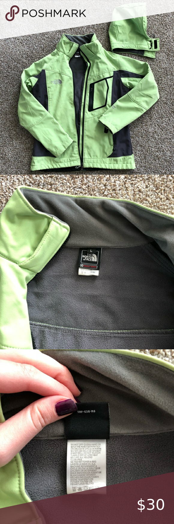 Green North Face Jacket Lime Green Women S North Face Jacket With Detachable Hood Perfect Condition A North Face Jacket Green North Face Jacket The North Face [ 1740 x 580 Pixel ]