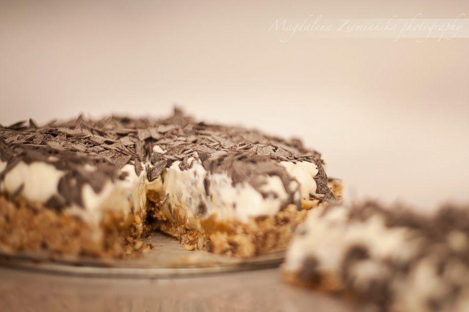 Mania Wypiekania: Banoffee - ciasto z bananami i toffi bez pieczenia