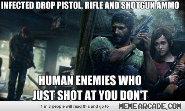 Video Game Memes Meme Arcade The Last Of Us Video Game Memes Gaming Memes