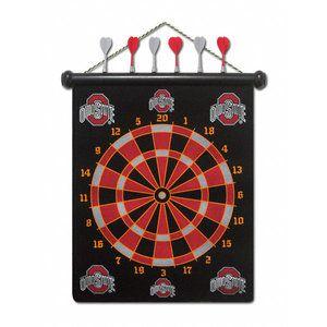 Fun Osu Dart Board Ohio State Buckeyes Ohio State Merchandise