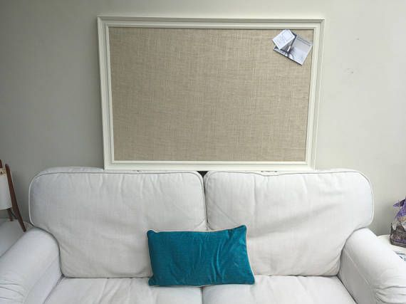 Memoboard Kinderzimmer ~ Giant hessian pin board hessian bulletin board hessian memo board