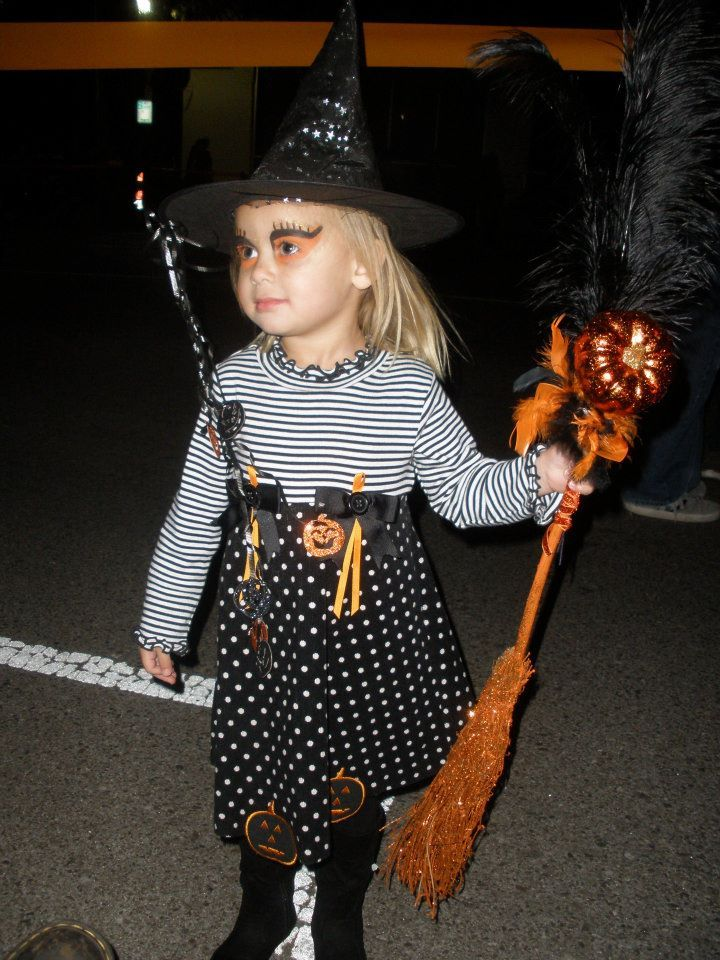 DIY princess witch costume for girl.  sc 1 th 259 & DIY princess witch costume for girl. | DIY Costumes for Kids ...