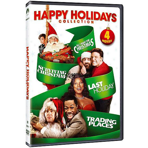 Happy Holidays Collection Trading Places Last Holiday Surviving Christmas All I Want For Christmas Surviving Christmas Holiday Collection Last Holiday