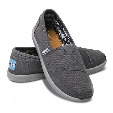 f975eb85ab2 Toms Youth Classic Canvas in Ash  38