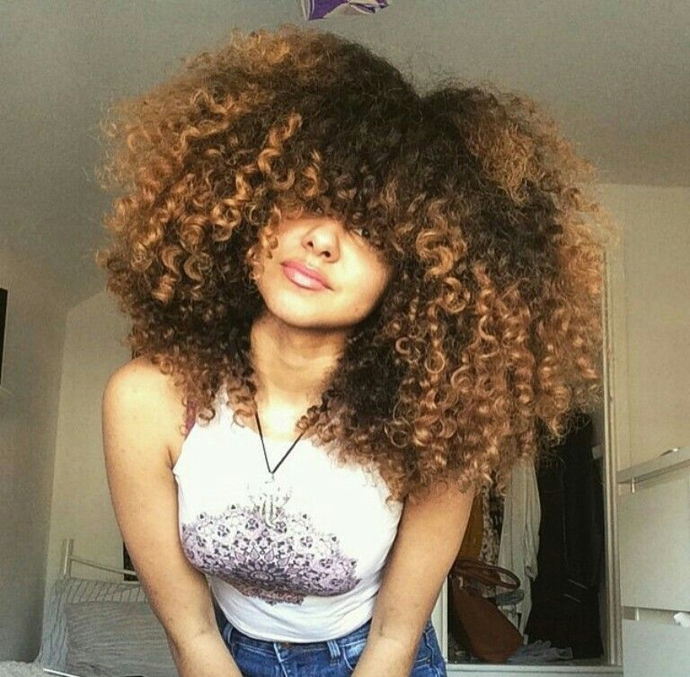 Fluffy curls for days makeup hair nails wild