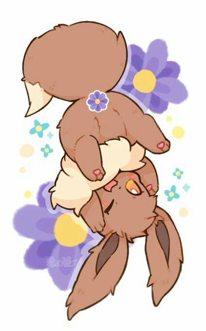 ¡Flower Eevee!