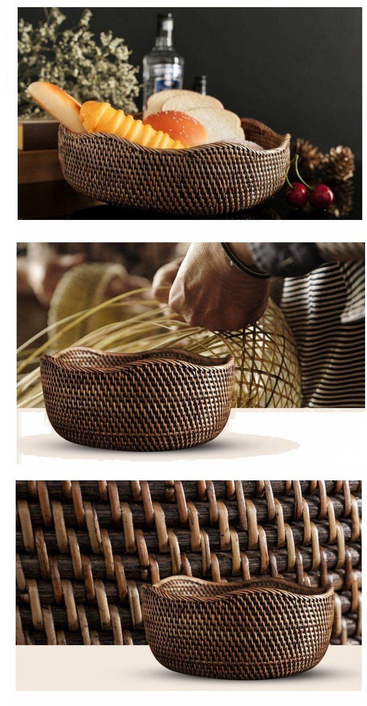 Indonesia Hand Woven Storage Basket Natural Fiber Baskets Small Rustic Basket S Izobrazheniyami Pletenie