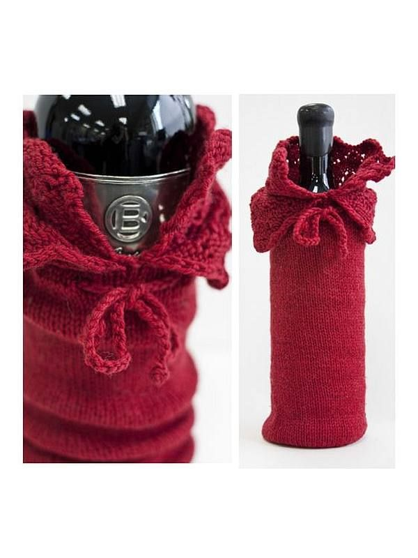 Wine Bottle Cover - Cascade Wine Sacque - Laughing Hens