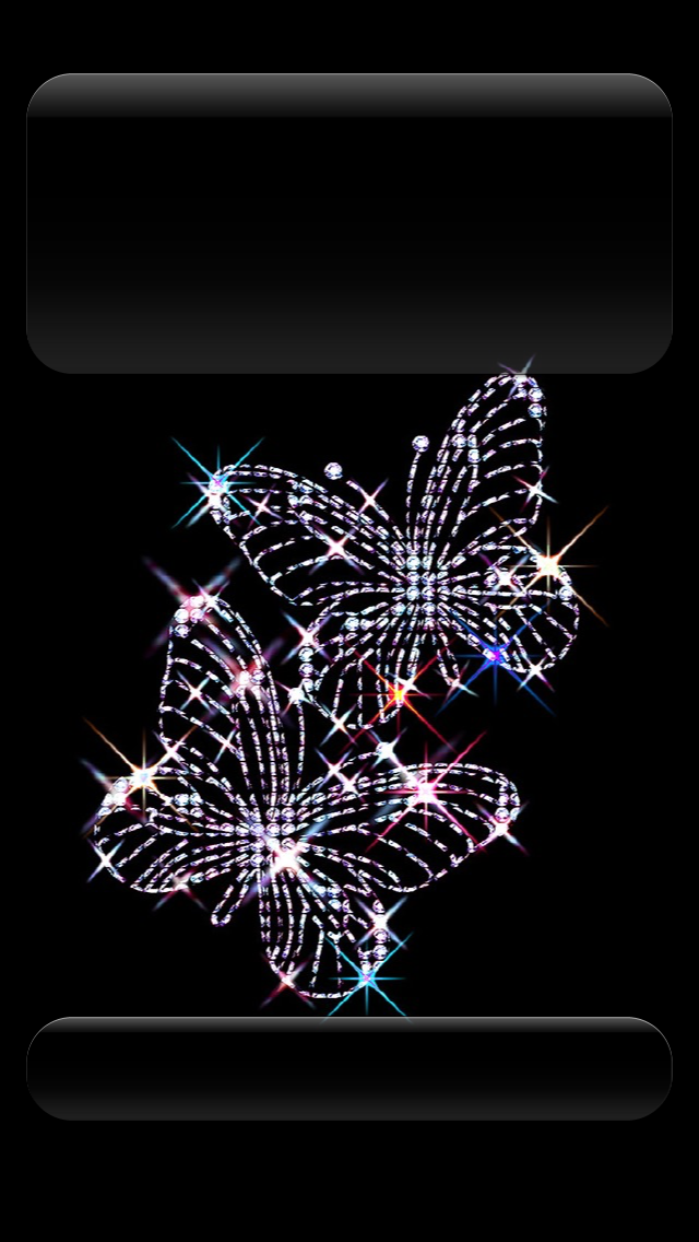Tap And Get The Free App Lockscreens Butterfly Magic Black Hd Iphone 5 Lock Screen Butterfly Wallpaper Bling Wallpaper Butterfly Wallpaper Iphone