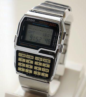 Rare Vintage Casio DATA BANK 300 DBC-3000 Calculator Watch