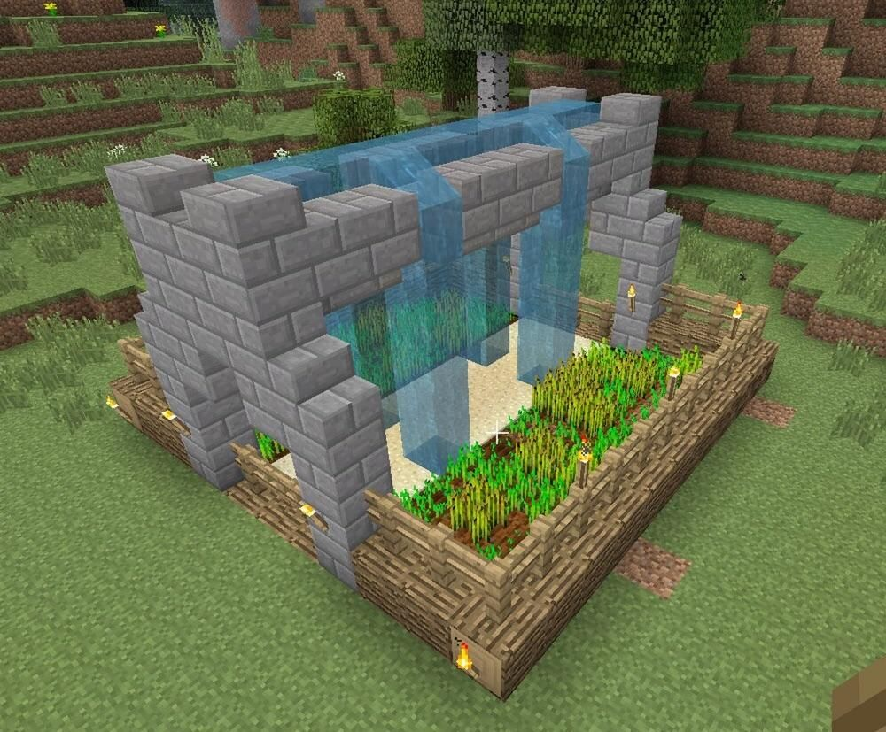 Pin By Gummy Aluza On Minecraft Inspirations Minecraft Designs Minecraft Farm Minecraft Crafts