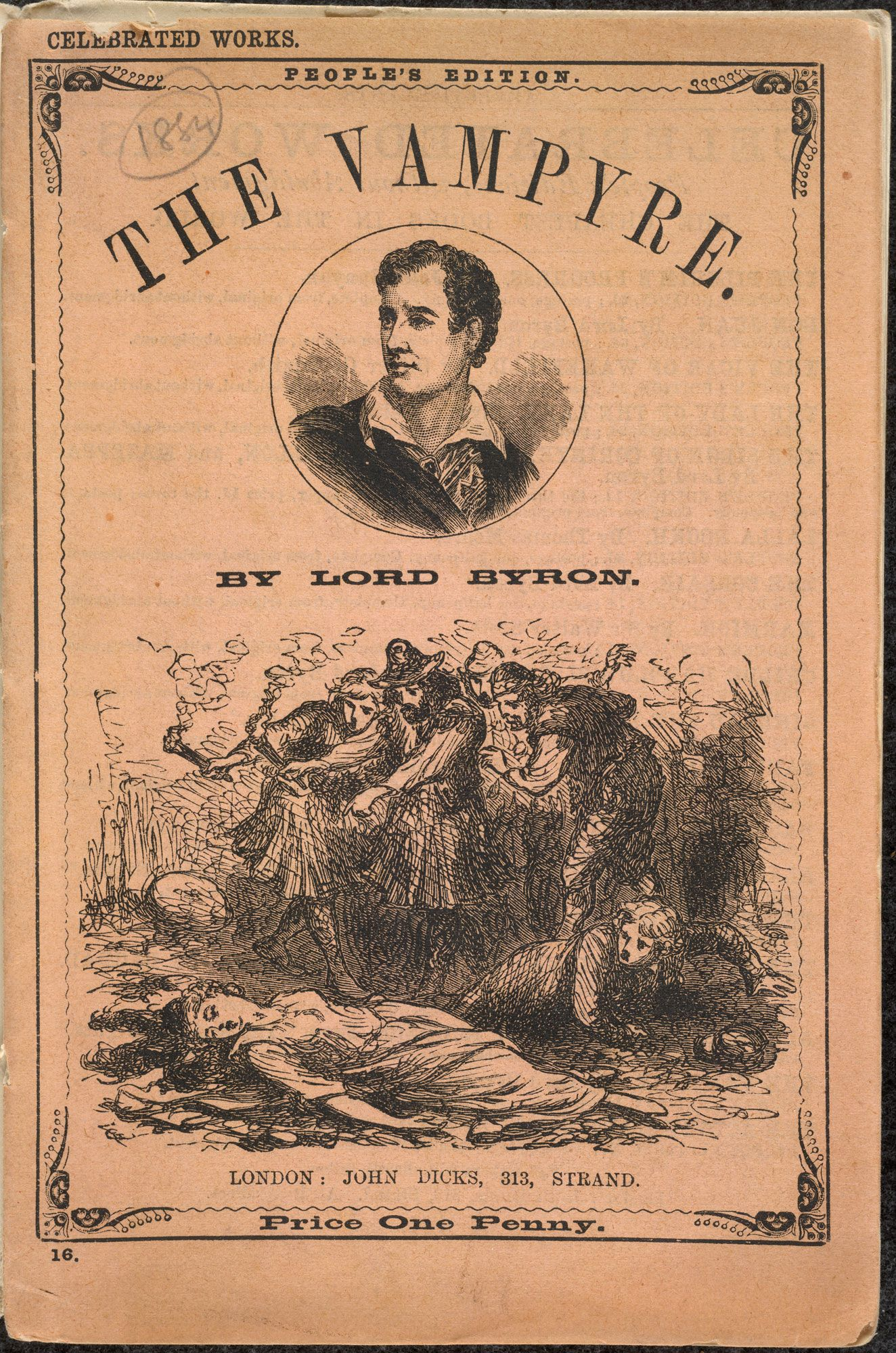 lord byron and his literature Essay lord byron and his literature lord byron was a man whose passion for life seemed unequaled by any of the other romantic figures byrons personal character.