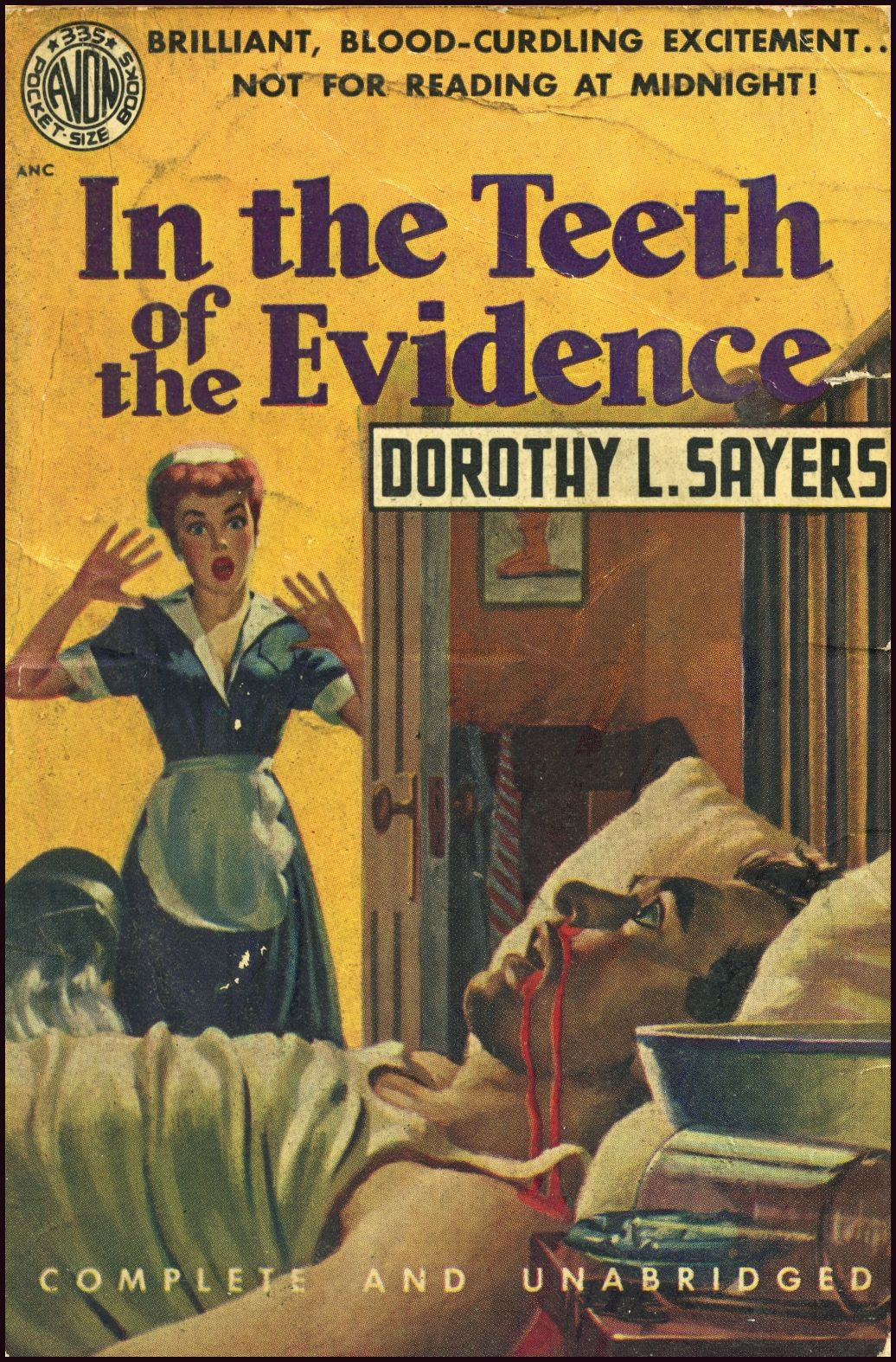 In the teeth of the evidence by dorothy l sayers golden