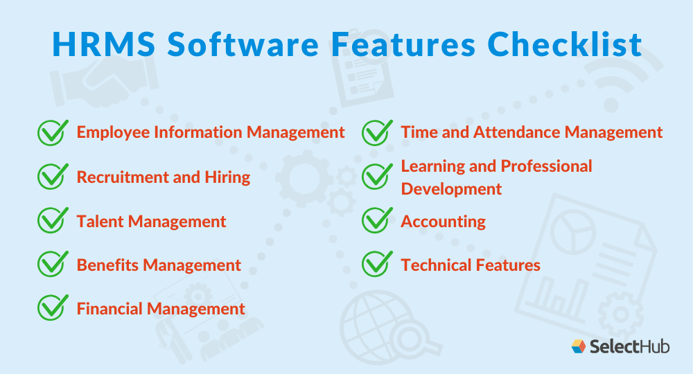 Hrms Software Features Hrms Hr Management Financial Management