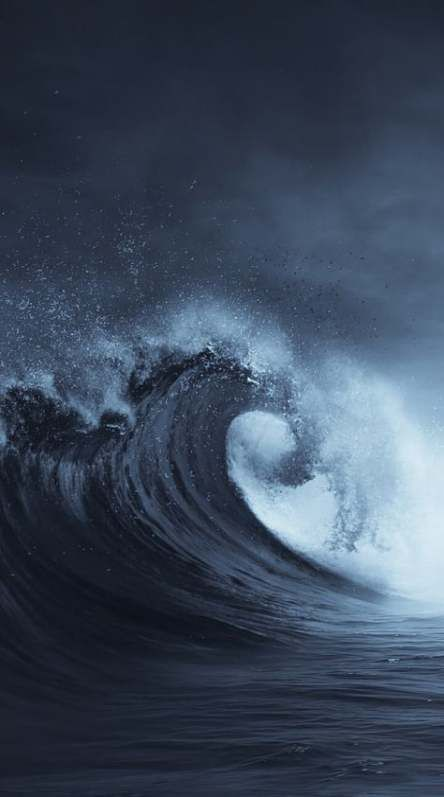 68 Trendy Wallpaper Backgrounds Dark Ocean Ocean Waves Photography Ocean Wallpaper Waves Wallpaper