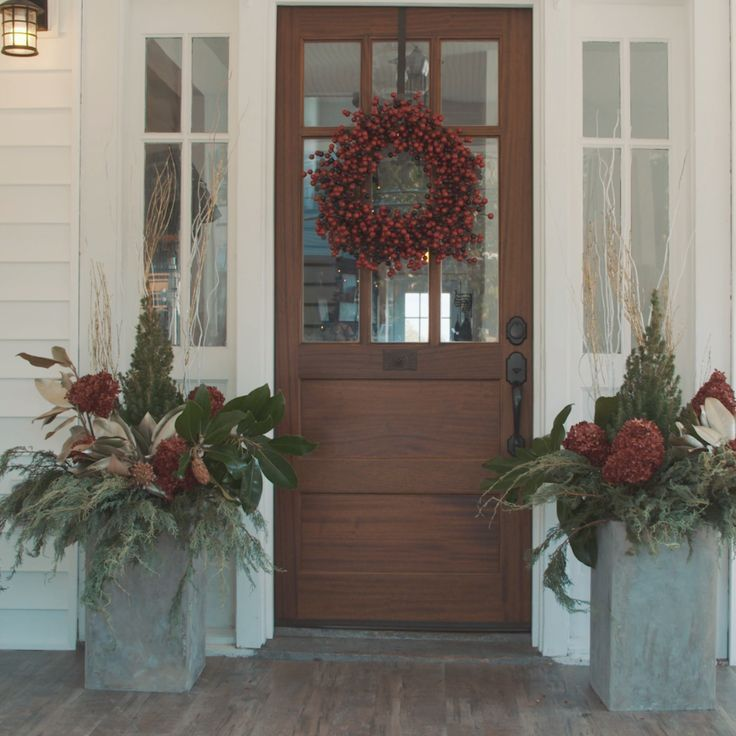 Winter Porch Decorating Ideas Part - 21: 77 DIY Christmas Decorating Ideas. Decorating Porch For ChristmasWinter ...