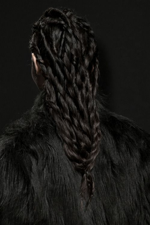 Hairstyle for a wildling, Bernard Chandran