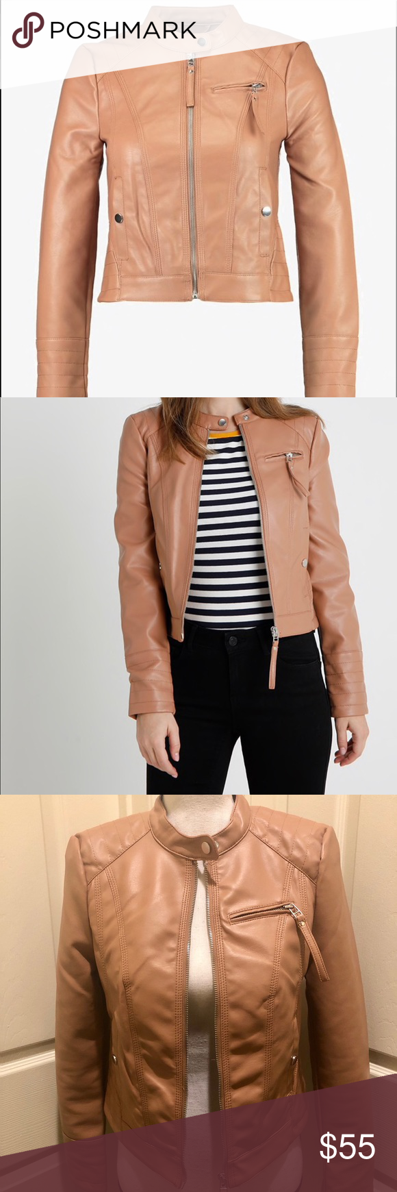 Hp Faux Leather Jacket Faux Leather Jackets Clothes Design Burgundy Leather Jacket