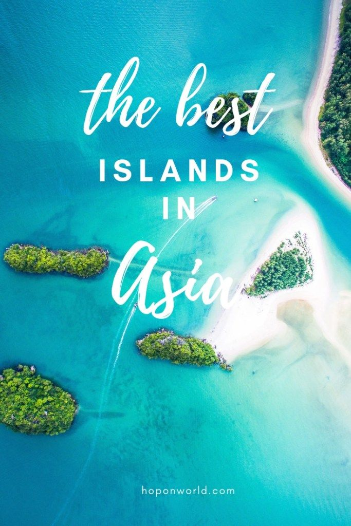 Best Islands in Asia   Are you looking to island hop your way through Asia? We've got you covered. Check out this amazing list of the best islands to add to your island hopping itinerary when in Asia. From the pristine beaches of Thailand, Indonesia and Sri Lanka to the hidden gems in Vietnam, Taiwan and Hong Kong. #islands #asia #travel #hoponworld #bestislandsinasia #islandintinerary