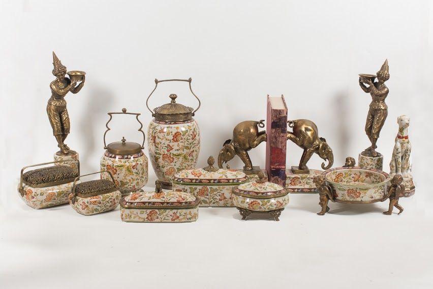 Coleção de porcelana Le Jardin Maria Pia Casa