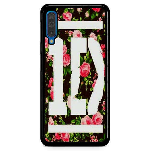 1D One Direction Floral V0288 Casing Samsung Galaxy A50  Premium Case