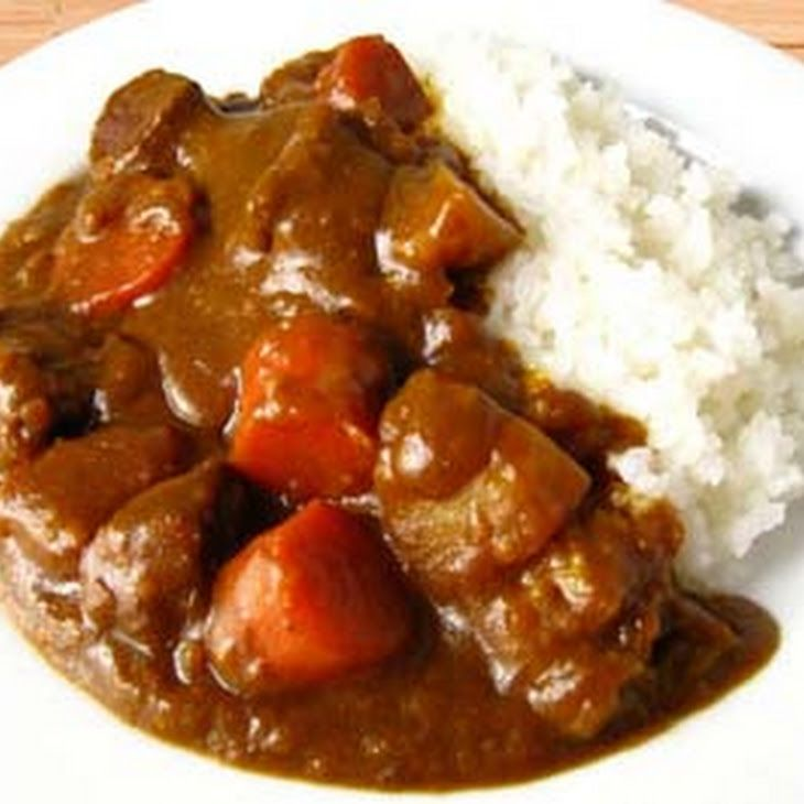 Japanese Curry Recipe Main Dishes With Cubed Pork Onions Carrots Potatoes Garlic Vegetable Oil Chicken Br Curry Recipes Cubed Pork Recipes Japanese Curry