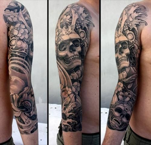 Tattoosetcom Tattoo Designs Tatto Tatuajes Brazo Calaveras