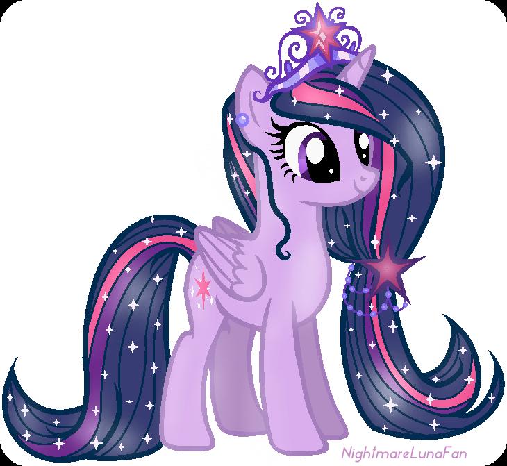 Princess Twilight Sparkle By NightmareLunaFan On DeviantART My Little  Pony Twilight, Princess Twilight Sparkle, Pony